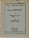 Report of the Curriculum Conference Held at Rollins College, January 19-24, 1931