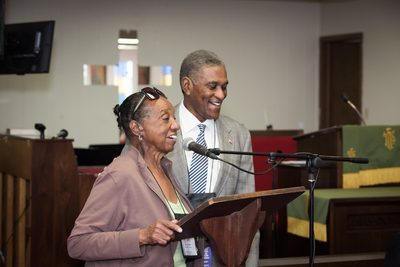 Opening planery session of Maye St. Julien  and Johnny L. Ford, former Mayor, Tuskegee, AL