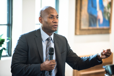 Plenary session at Rollins of Charles M. Blow