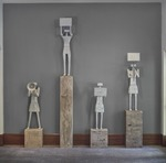 Protester I, II, III, and IV by Pedro Reyes