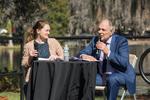 Global Conversations, Zora! Festival, Rollins College, January 29, 2019, Luncheon , Conversation with Ambassador Peter Romero (Retired) by Matt Nichter